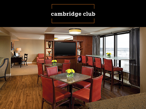 Cambridge Red Deer Hotel club lounge