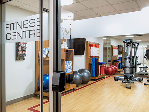Cambridge Red Deer Hotel fitness studio